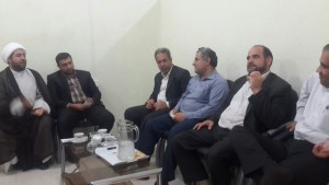 دیدار فعالان اجتماعی کوت عبدالله با مسئول کمیته امداد امام خمینی (ره) شهرستان کارون