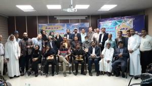 گزارش مراسم مردمی تجلیل از نویسندگان و خبرنگاران آزاد اهواز + تصاویر