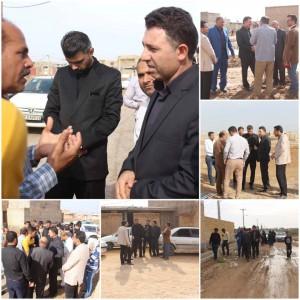 تخلیه آب آخرین روستاهای دشت آزادگان به پایان رسید