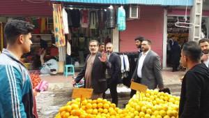 علی شمخانی دبیر شورای عالی امنیت ملی در بازار عبدالحمید اهواز چهارشنبه  ۲۸/اذرماه/۹٧ خوزستان