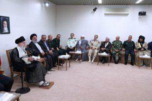 بیانات رهبر انقلاب اسلامی در دیدار دستاندرکاران کنگره بزرگداشت ۵۴۰۰ شهید استان کردستان